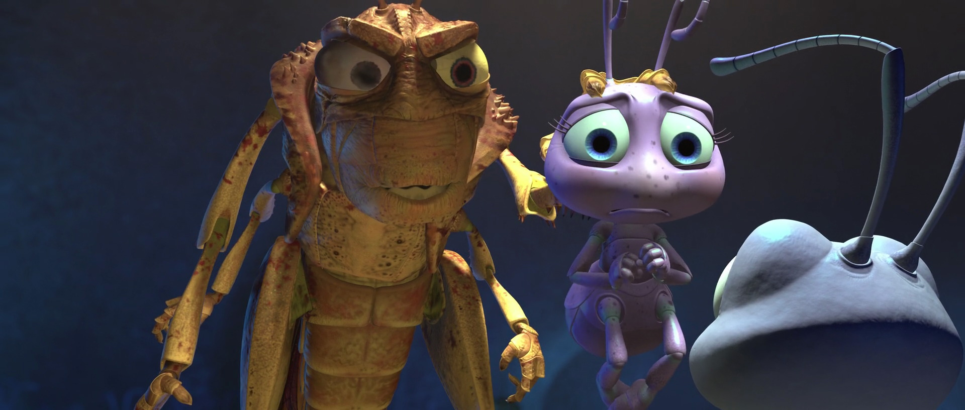 It's just a graphic of Zany Characters in a Bug's Life