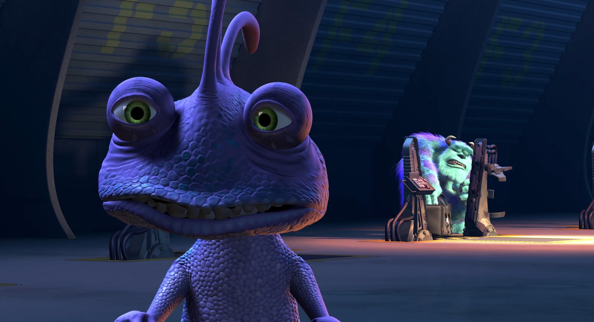 monsters inc animation analysis Monsters, inc does something incredible and even transcendent through the  pixar team's pristine animation, high-energy wit, and narrative.