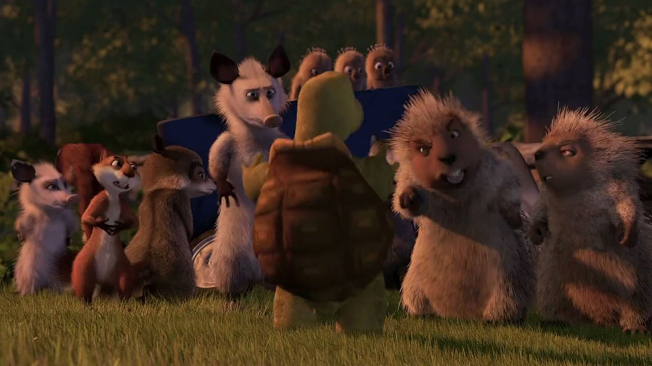 Over The Hedge Screencaps Related Keywords Suggestions Over The