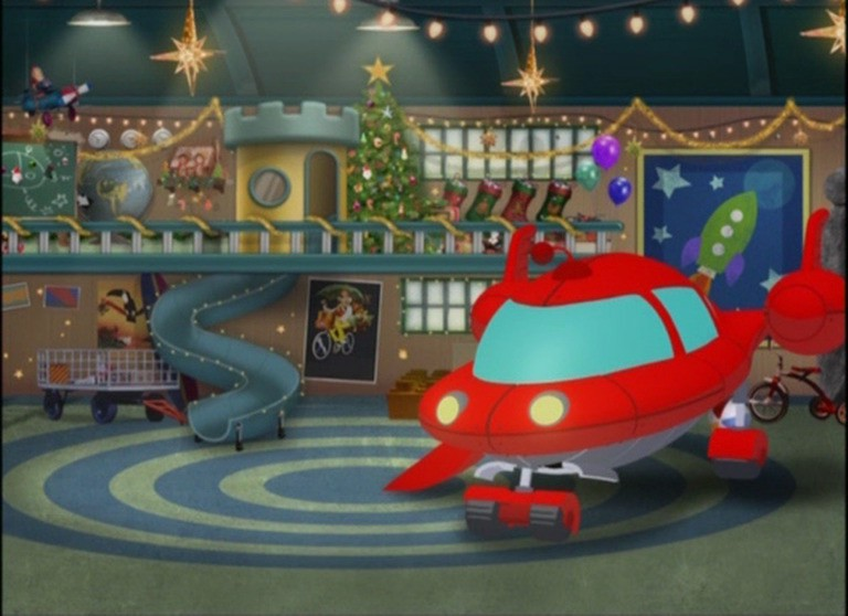 Mickey Saves Santa (Mickey Mouse Clubhouse) - Animation ...